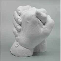 sádrový odlitek rukou