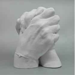 Semknuté ruce - 3D odlitek rukou