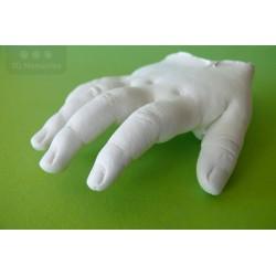 3D odlitek ručičky