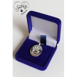 Stříbrný osobní šperk s otiskem ručičky