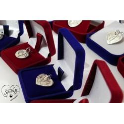 stříbrné osobní šperky 3D Memories s otisky nožiček a ručiček