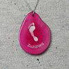 Osobní šperk z Tagua ořechu s otiskem